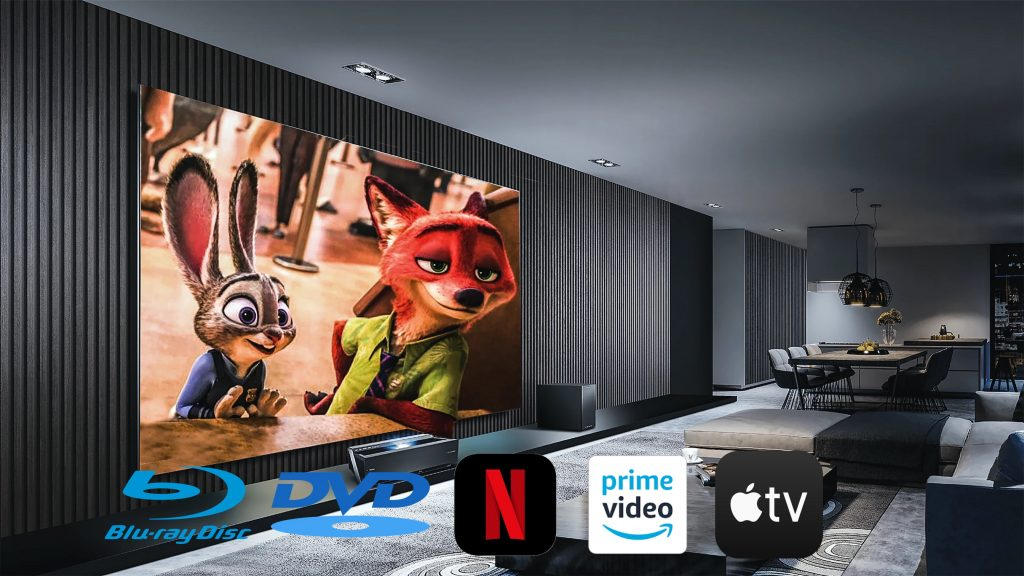 Home Theater: Streaming, DVD o Blu-ray HD 4K?